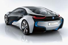 BMW i8 Concept.