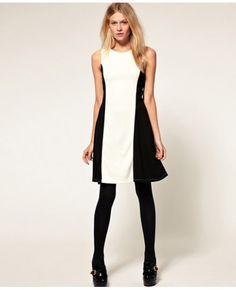 Black Side Panel Sleeveless Formal Dress In Women #Formal #Dresses