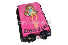 Monster High Dolls cake, tort dla dziewczynki