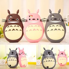 3 colors Totoro Iphone/Samsung Phone Case SP153334