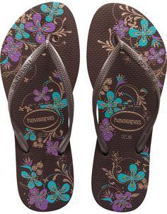 a516ae5302de7b women s havaianas · Classic beauty! Shop for your favorite flip flops. Havaianas  Slim Season Dark Brown