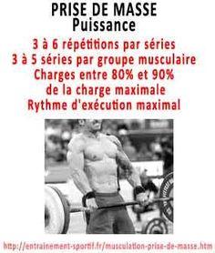 comment grossir pour prendre de la masse et de la puissance musculaire