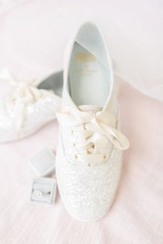 Sparkly sneakers for