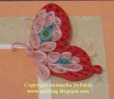 free quilling pattern butterfly
