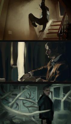 Hannibal cinematography study by Dayuun.deviantart.com on @deviantART