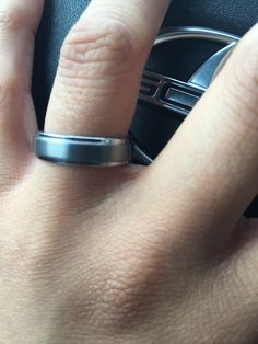 This is my purity ring. A commitment between God and I that I will wait until marriage. My beloved promise.