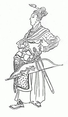 """Medieval drawing of Batu Khan, one of the most famous conquerers of Russia. Lived between 1207-1255; the founder of the Golden Horde. His state ruled Rus, Volga Bulgaria, Cumania, and the Caucasus for around 250 years, after also destroying the armies of Poland and Hungary. """"Batu"""" or """"Bat"""" literally means """"firm"""" in the Mongolian language."""
