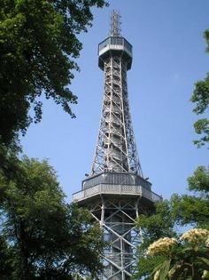 Petrin Observation Tower 3 A small version of Paris's Eiffel Tower, Prague. Places In Europe, Places To Visit, Eiffel Tower Silhouette, Mirror Maze, Wooden Buildings, Prague Czech Republic, Heart Of Europe, Paris Eiffel Tower, Most Beautiful Cities
