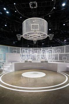 Fun detail in exhibit space; Bühnen Design, Display Design, Booth Design, Event Design, Exhibition Display, Exhibition Space, Les Gobelins, Design Museum, Exhibit Design