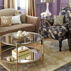 Clara Coffee Table - Gold