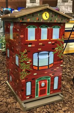 Beehive Art-Your Apiary is a Work of Art Keeping Backyard Bees Bee Hives Boxes, Beehive Design, Frame Store, Bee House, Potting Sheds, Bee Art, Garden Pests, Bees Knees, Bee Keeping
