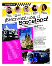 ¡Bienvenidos a Barcelona! (you need to register for the website, but it's free to do so)