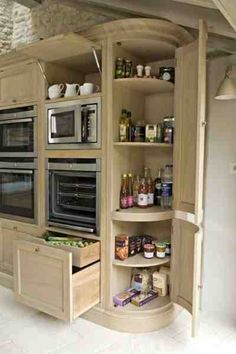 Pantry-Kitchen-utensils-and-Kitchens-14.jpg 400×601 pixels #Modernkitchenorganization #kitchenutensils