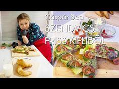 Gyertek át vacsorázni: Gáspár Bea szupergyors kiflije   Mindmegette.hu - YouTube Tacos, Mexican, Ethnic Recipes, Food, Youtube, Essen, Meals, Yemek, Youtubers