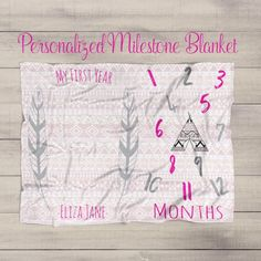 Flawless 101 Baby Monthly Milestone Blanket https://mybabydoo.com/2017/05/03/101-baby-monthly-milestone-blanket/ A fantastic gift doesn't have to be costly. Another sort of christening gift is known as the Personalized Rosary Gift collection
