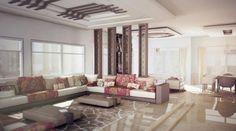 Salon marocain modèrne – excellence du style marocain