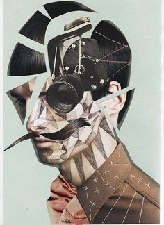 Art Collage | Photography, Thread Geometric Patterns. (? Credit ?)