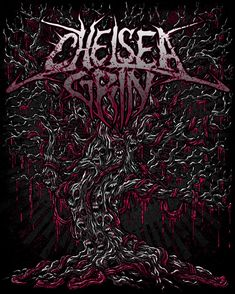 Chelsea Grin Desolation Of Eden Neon Music Artwork, Metal Artwork, Cool Artwork, Metal Band Logos, Metal Bands, Thy Art Is Murder, Heavy Metal Art, Purple Band, Band Wallpapers