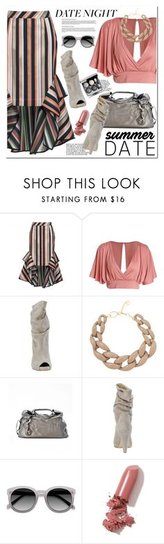 """""""Smokin' Hot: Summer Date Night and PaoloShoes"""" by paoloshoes ❤ liked on Polyvore featuring Theo, DIANA BROUSSARD, Ace, LAQA & Co., Chanel and summerdatenight"""