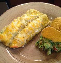Cilantro Chicken Enchiladas - simple dinner and easy freezer meal!