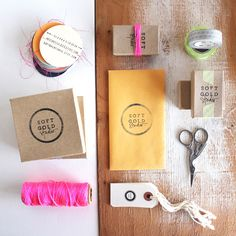 Inspiring, low-budget packaging design. The jewelry is awesome too!!