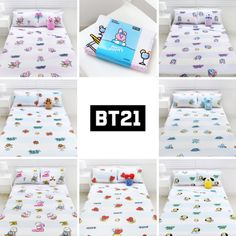 Such beautiful blanket and pillows 💕🥰 Army Room Decor, Bedroom Decor, Bedroom Ideas, Bts Doll, Bts Shirt, Bts Clothing, Bts Merch, Bullet Journal Ideas Pages, Line Friends