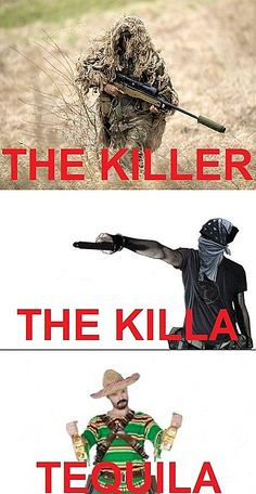 There are three types of killers in the world