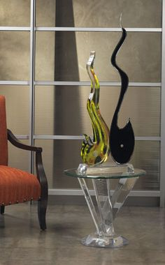 ACOUSTIC SCULPTURE By Shahrooz Shahrooz Art.com   #AcrylicFurniture,  #LuciteFurniture ACRYLICORE
