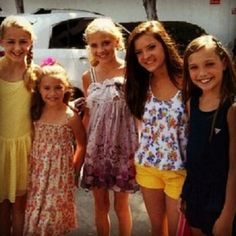 Question of the Day: if you could hang out with one of the dance moms girls all day, which one would you choose to hang out with and why?