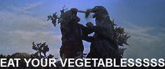 Godzilla - Eat your vegetables