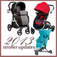New strollers for 2013 at SavvySassyMoms.com