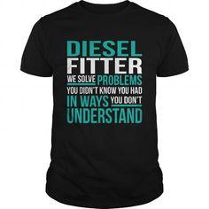 DIESEL-FITTER - #tshirt estampadas #hoodies/sweatshirts. CLICK HERE => https://www.sunfrog.com/LifeStyle/DIESEL-FITTER-132208409-Black-Guys.html?68278