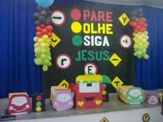 Race Car Themes, Bible Teachings, Bible For Kids, Kids Church, Balloons, Decoration, Classroom, The Incredibles, Games