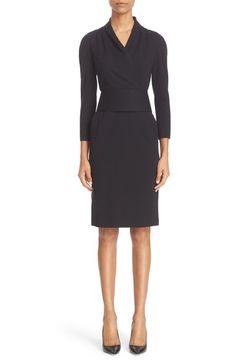 Armani Collezioni Milano Jersey Dress available at #Nordstrom