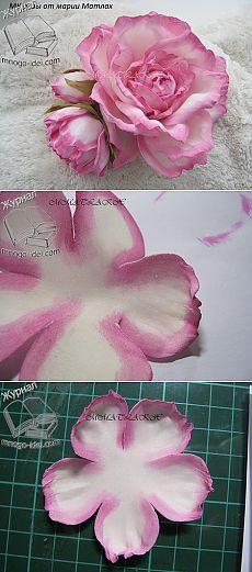 Роза из фоамирана мастер класс                                                                                                                                                                                 More