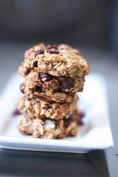 Vegan breakfast cookie