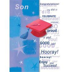 Greeting Card 'Graduation for Son' www.lambertpaint.com