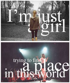 A Place in This World - My all time favorite Taylor Swift song