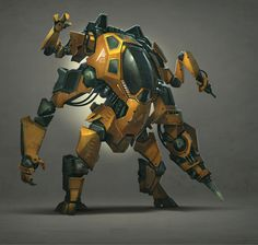 ArtStation - Robots, Vehicles & Weapons, Hardy Fowler