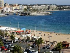 This is the beach in Frejus, France, where I spent my homestay with a lovely family.