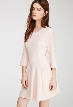 Textured A-Line Pocket Dress | FOREVER21 - 2000135494