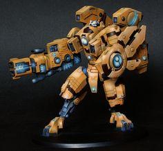 40k - Tau Riptide by Andrew Welsh via gamesworkshop.com
