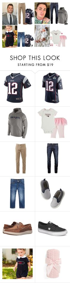 """Superbowl party//The Northrups"" by running-wild ❤ liked on Polyvore featuring NIKE, rag & bone, Jack & Jones, Gymboree, Sperry, DC Shoes, Nordstrom and Carter's"