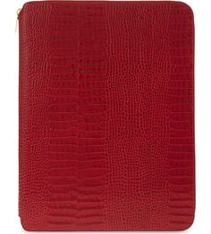 SMYTHSON - Mara A4 leather writing folder 25cm | Selfridges.com