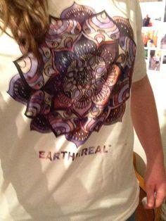 a6a69dd2e9a1  Earth Mandala  økologisk fair trade T-skjorte - Herre. EARTHEREAL™ ·  EARTHEREAL™ Organic and Fairtrade T-shirts
