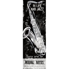Trent Austin Design Wrong Notes Vintage Advertisement on Wrapped Canvas Size: