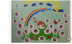 This Pin was discovered by Sil Hobbies And Crafts, Diy And Crafts, Crafts For Kids, Arts And Crafts, Paper Crafts, Class Decoration, School Decorations, Kindergarten Crafts, Preschool Crafts