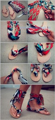 renew your sandal by easy way ^.^