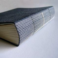 herringbone book - lime green by littlepaperbird on Etsy