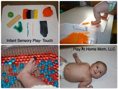 Infant Play.  Sense of Touch